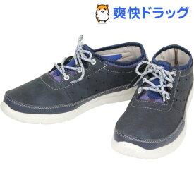 ヘルスニット カジュアルシューズ 403 ネイビー 26.0cm(1足)【ヘルスニット】