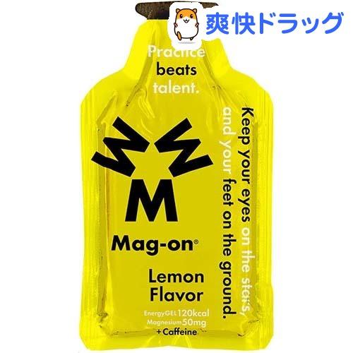エナジージェル レモン味(12コ入)【マグオン(Mag-on)】【送料無料】