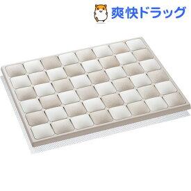 Karari 珪藻土フットタイルバスマット M ベージュ(1コ入)【Karari】