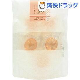 パトモス 和の湯バスエッセンス 桜(さくら)(8g*5コ入)【パトモス】[入浴剤]