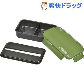 パール金属 ホームレーベル01 メンズランチボックス1段 カーキグリーン(1コ入)【パール金属】[お弁当箱]