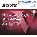 ソニー ブルーレイRE2倍速1層 Vシリーズ 10BNE1VLPS2(10枚入)