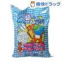 猫砂 紙で出来た流せる猫砂(8L)【オリジナル 猫砂】[猫砂 ねこ砂 ネコ砂 紙 ペット用品 紙砂]