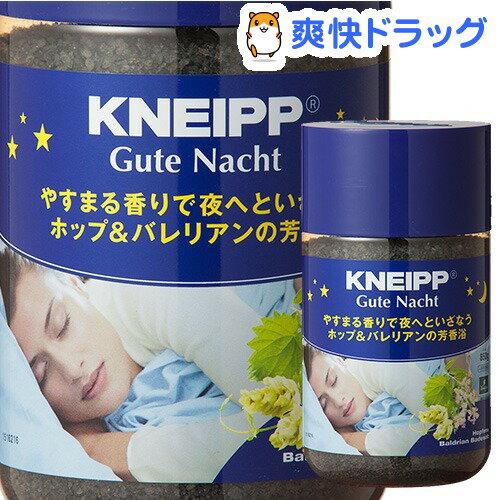 クナイプ グーテナハトバスソルト ホップ&バレリアンの香り(850g)【クナイプ(KNEIPP)】