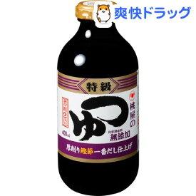 桃屋 つゆ 特級(400mL)