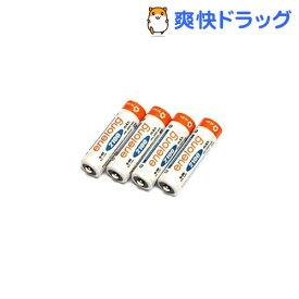 エネロング 2100mAh 単3形 4本パック EL21D3P4(1パック)