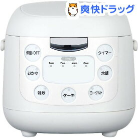 3合炊きコンパクト炊飯ジャー EB-RM6200Kホワイト(1台)[炊飯器]