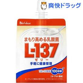 まもり高める乳酸菌l-137 ゼリー(180g*6個入)【ハウスウェルネスフーズ】