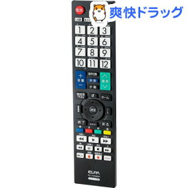 エルパ 地上デジタル用テレビリモコン シャープテレビ用 RC-TV009SH(1コ入)【エルパ(ELPA)】