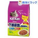 カルカン ドライ 成猫用 下部尿路の健康維持用 まぐろと野菜味(1.6kg)【カルカン(kal kan)】[カルカン ドライ まぐろ]