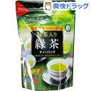 宇治森徳かおりちゃん 抹茶入緑茶ティーパック(2g*40袋入)