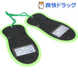 シリカクリン 激取りMAX シューキーパー ブラック(2枚入)【シリカクリン】