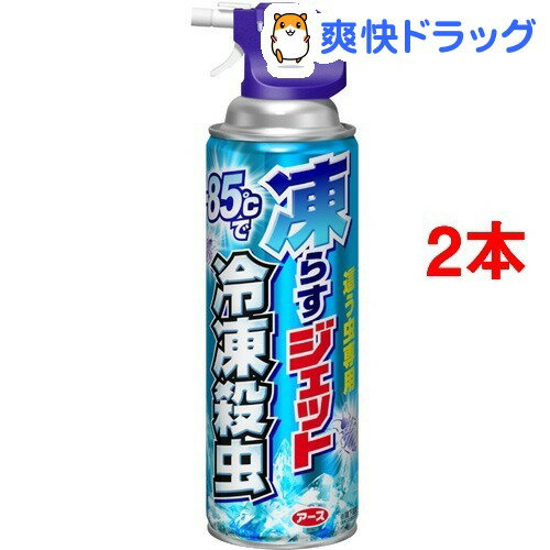 凍らすジェット冷凍殺虫(300mL*2コセット)【アース】