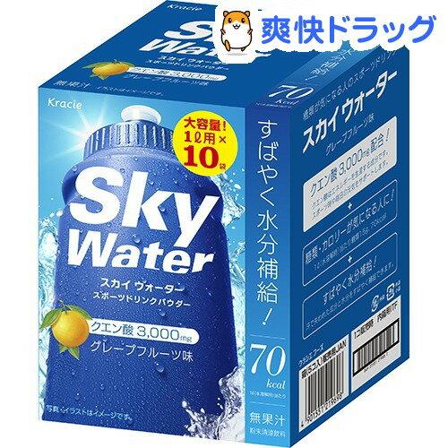 スカイウォーター グレープフルーツ 内箱 1L用(10袋入)【スカイウォーター】