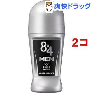 8x4(エイトフォー) メン ロールオン 無香料(60mL*2コセット)【8x4 MEN(エイトフォー メン)】