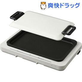 左右温調ホットプレート 1枚プレート WHP-011-W(1台)【アイリスオーヤマ】