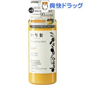 いち髪 ナチュラルケアセレクト モイストトリートメント ポンプ(480g)【いち髪】