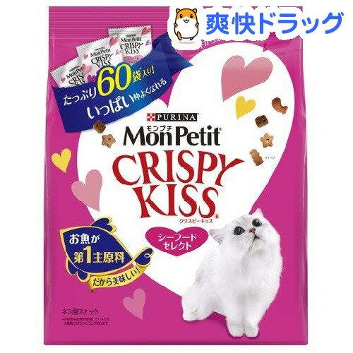 モンプチ クリスピーキッス シーフードセレクト(180g)【d_mon】【モンプチ】