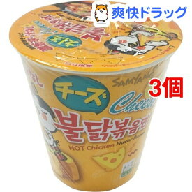 汁なしチーズブルダック カップ麺(70g*3個セット)
