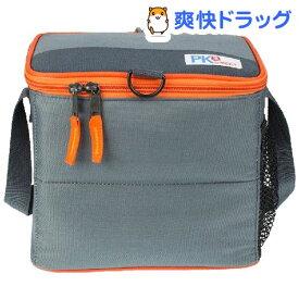 PACKiT(パックイット) 6缶クーラー 5.7L グレー/オレンジ PK2-CC-GRY(1コ入)