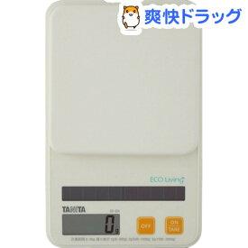 タニタ デジタルソーラークッキングスケール オレンジ SD-004-OR(1台)【タニタ(TANITA)】