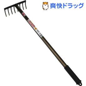 千吉 金鋼アルミ柄 レーキ 750mm(1本入)【千吉】