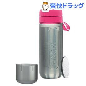 ブリタ フィル&ゴー アクティブ ピンク(0.6L)【ブリタ(BRITA)】[水筒]