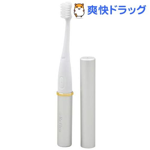 ドリテック 音波式 電動歯ブラシ シルバー TB-306SV(1セット)