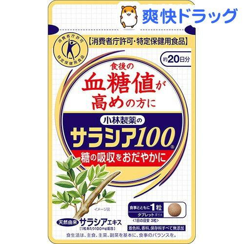 小林製薬のサラシア100(60粒)【小林製薬の栄養補助食品】