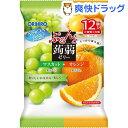 ぷるんと蒟蒻ゼリー パウチ マスカット+オレンジ(20g*12コ入)【ぷるんと蒟蒻ゼリー】