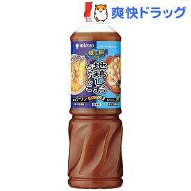 ミツカン 麺&鍋大陸 地鶏しおちゃんこスープの素(1180g)【麺&鍋大陸】