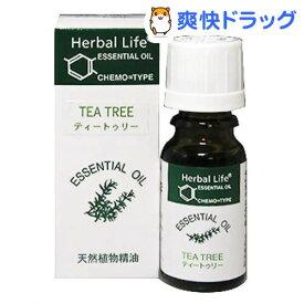 エッセンシャルオイル ティートゥリー(10mL)【生活の木 エッセンシャルオイル】