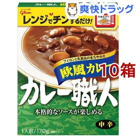 カレー職人 欧風カレー 中辛(170g*10コ)【カレー職人】