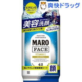 MARO デザインフェイスシート マンハッタン ビッグアップルの香り(42枚)【マーロ(MARO)】