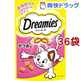 ドリーミーズ かつお味(60g*36コセット)【ドリーミーズ】