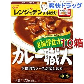 カレー職人 老舗洋食カレー 中辛(170g*10コ)【カレー職人】