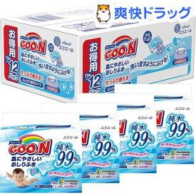 グーン 肌にやさしいおしりふき つめかえ用(70枚x12コ入)【kt09】【グーン(GOO.N)】