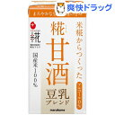 プラス糀 糀甘酒 豆乳ブレンド LL ケース(125mL*18本入)【プラス糀】