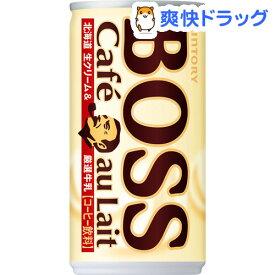 ボス カフェオレ(185g*30本入)【ボス】