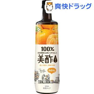 美酢(ミチョ) みかん 希釈タイプ(900ml*3本セット)【美酢(ミチョ)】