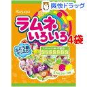 春日井製菓 ラムネいろいろ(70g*4袋セット)