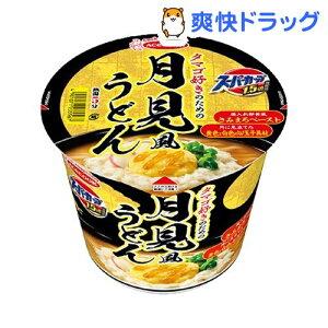 スーパーカップ1.5倍 タマゴ好きのための月見風うどん(12個入)【スーパーカップ】