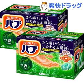 バブ 森の香り(40g*20錠入*2箱セット)【バブ】