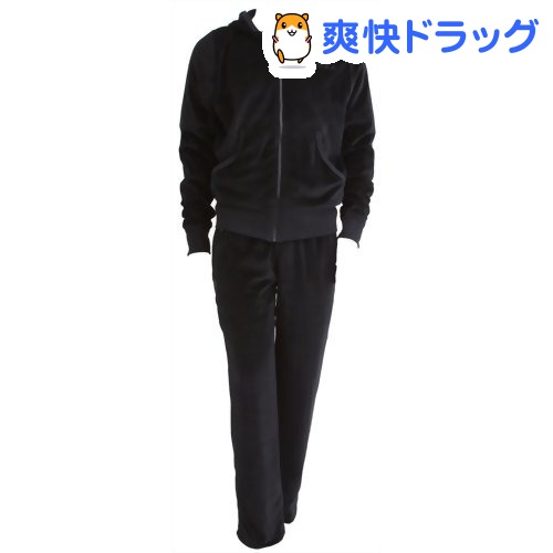 モデルスタイルオム サウナスーツ ブラック Lサイズ(1着)【モデルスタイルオム(modeL-styLe.homme)】【送料無料】