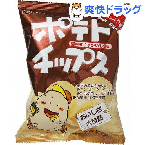創健社 ポテトチップス バター醤油味(60g)