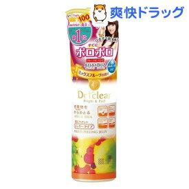 DETクリア ブライト&ピール ピーリングジェリー ミックスフルーツの香り(180mL)【DETクリア】