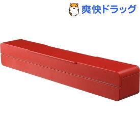 マグネットラップケース アクア L レッド(1コ入)【山崎実業】