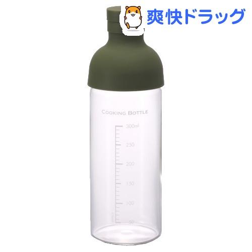 ハリオ クッキングボトル・300 オリーブグリーン(1コ入)【ハリオ(HARIO)】[キッチン用品]