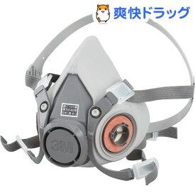 3M 防毒マスク 半面形面体 ミディアム 6000M(1コ入)