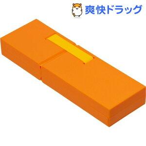 ナカバヤシ ディスプレイペンケース Mサイズ オレンジ PCN-DP02OR(1コ入)【ナカバヤシ】